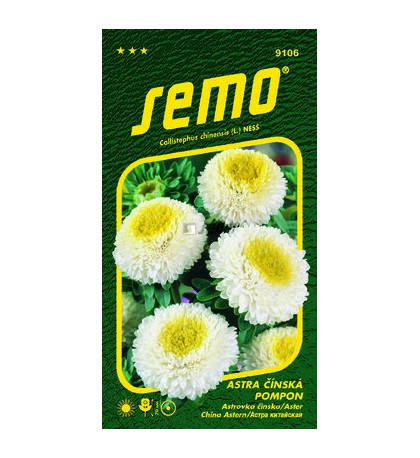 POMPON WHITE AND YELLOW - 0,5 g
